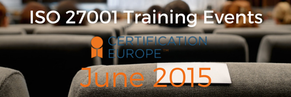 ISO 27001 Training Events