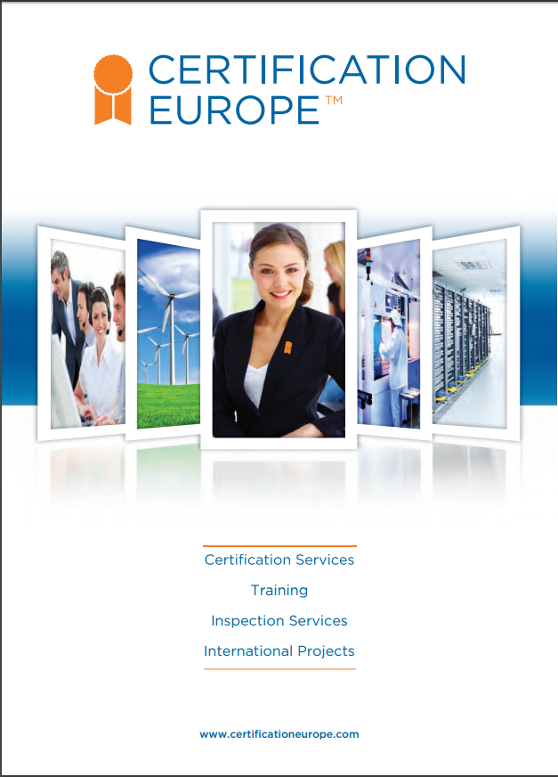 Certification Europe Ireland Corporate Brochure